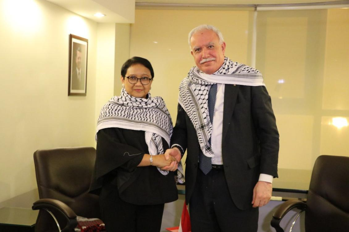 Indonesian FM on foreign tour in support of Palestine