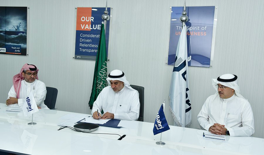 Saudi shipping carrier Bahri signs deal