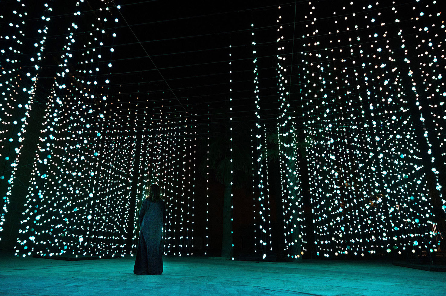 The Noor Riyadh festival will see the Saudi capital light up for 17 days with international artworks. (Supplied)