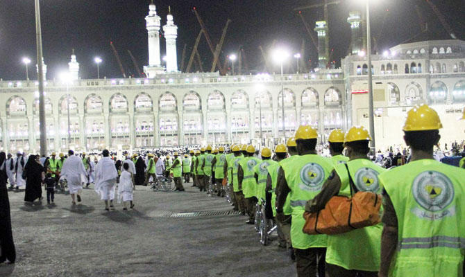18,000 Civil Defense officers ready to protect pilgrims