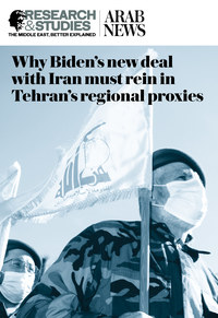 Why Biden's new deal with Iran must rein in Tehran's regional proxies