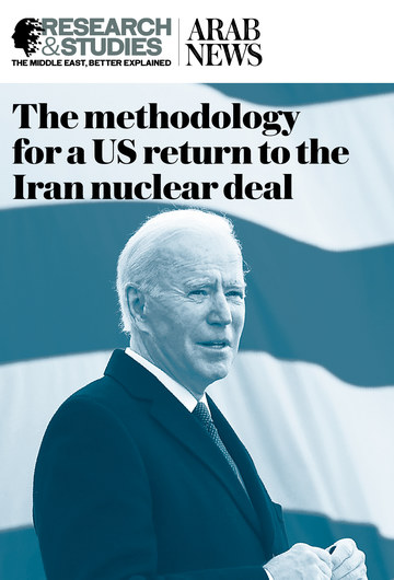 The methodology for a US return to the Iran nuclear deal