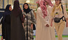 The Saudi government is working directly with companies like Serco to hire more local staff and promote equal opportunities for women in the Kingdom. (AFP/File Photo)