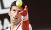 Djokovic sweeps into quarters in front of 'great' Rome crowd