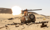 A Yemeni government fighter fires a vehicle-mounted weapon at a frontline position during fighting against Houthi fighters in Marib, Yemen March 9, 2021. (Reuters/File Photo)