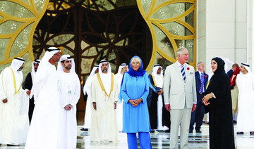 Prince of Wales visits Sheikh Zayed Mosque in Abu Dhabi