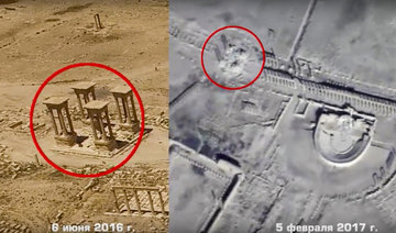 Russian drone footage shows wide damage at Syria's Palmyra