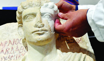 Antique busts ruined in Palmyra will return to Syria