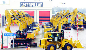 Caterpillar may cut up to 10,000 jobs
