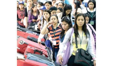 Filipino maids' arrival delayed by shortage