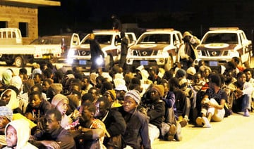 Libya arrests 200 African migrants, human trafficker