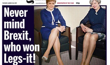 UK's Daily Mail faces social media backlash over 'Legs-it' headline