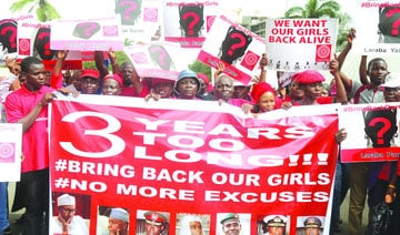 Nigeria marks 3 years since schoolgirls' mass abduction