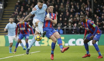 Manchester City's record Premier League run ends after Crystal Palace draw