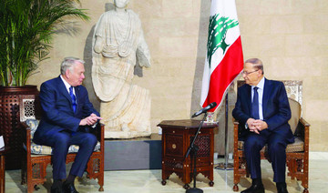French FM says conditions favorable to supply  weapons to Lebanon