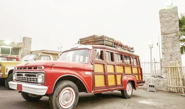 Taif festival showcases vintage cars