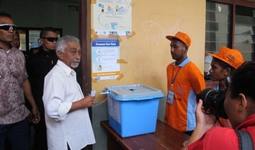 East Timor PM urges calm as voters await election result