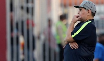 Diego Maradona goes from managing in the UAE to chairman of Belarus club