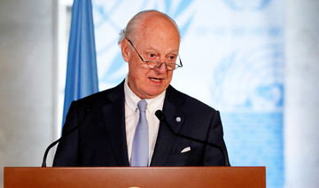 UN envoy sets up talks on  Syria constitution