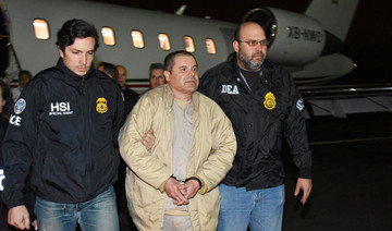 Witness says Mexican druglord 'El Chapo' paid massive bribes to top cop