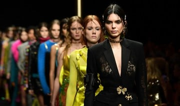 Hadid sisters, Imaan Hammam go grunge for Versace at MFW