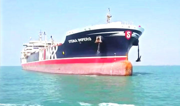 UK tanker docks in Dubai after detention by Iran