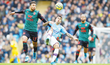 Sterling sparkles as Manchester City see off Aston Villa