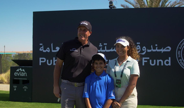 Phil Mickelson inspires teenager on mission to become first Saudi female golf professional