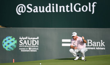 McDowell leads going into Saudi International final round