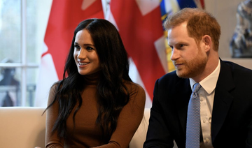 Harry, Meghan in first joint event since leaving royal fold