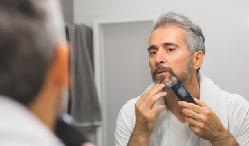 Shaving at home for men made possible and easier with barber Fayeez Alslom