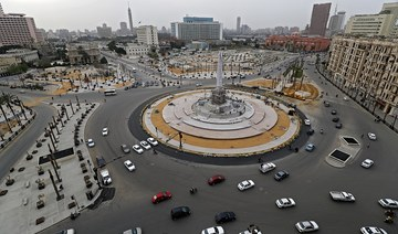 Egypt sphinxes moved to Tahrir Square