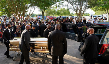 Thousands mourn George Floyd in Texas amid calls for reform