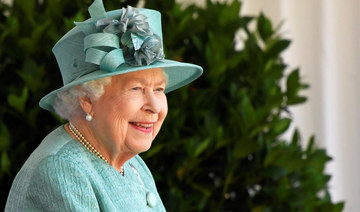 Queen Elizabeth's official birthday marked with smaller ceremony