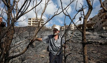Fires brought under control in Syria, Lebanon