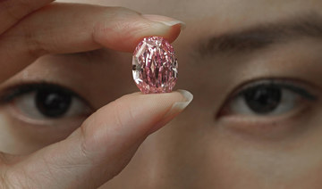 Super rare, purple-pink diamond up for auction, could fetch $38 million