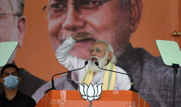 India PM Modi holds first election rally since COVID-19 outbreak