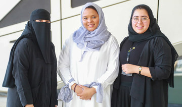 Young Saudi women take charge of T20's digital demands