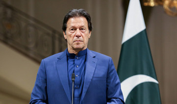 Pakistan will refuse to recognize Israel until Palestinian rights are guaranteed, Prime Minister Imran Khan said in a television interview. (AFP/File Photo)