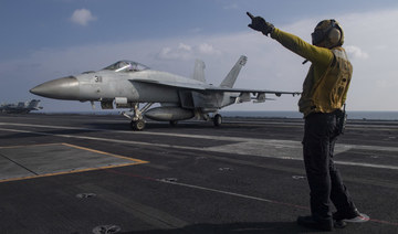 US aircraft carrier to stay in Gulf: Pentagon