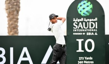 Saud Alsharif has called on more young potential golf stars to make the most of what is available to them throughout Saudi Arabia and the wider region. (Golf Saudi/File Photo)