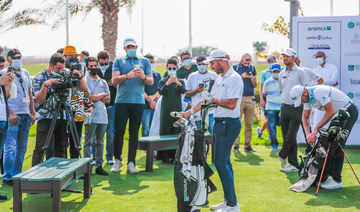 More than 60 countries across six continents will broadcast the tournament, taking place at Saudi Arabia's Royal Greens Golf and Country Club. (Supplied)