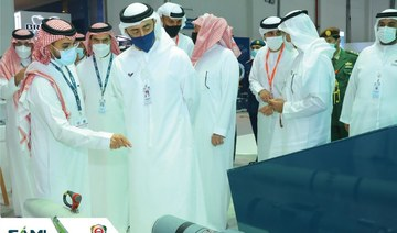 UAE officials visit SAMI's stand at IDEX 2021