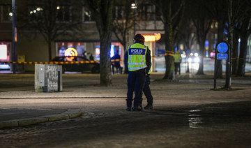 Eight injured in 'suspected terrorist' stabbings in Sweden: Police