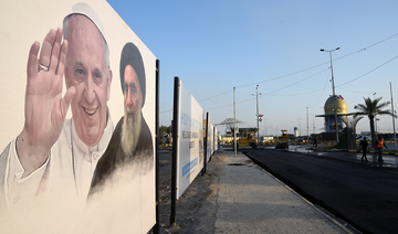 Preparations in full swing for pope's meeting with Ali Al-Sistani
