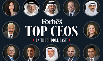 Saudis dominate Forbes Middle East's 2021 list of top CEOs