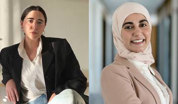 Nour Emam (L) and Dr. Deemah Saleh (R) run Instagram accounts where they share information on intimate female health. (Supplied)