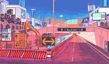 Saudi artist's video-game-inspired work grabs global attention