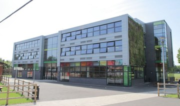 Uxbridge High School in London threatened her family with legal action after her consecutive absences. (Wikimedia Creative Commons/Uxbridge High School Academy Trust)