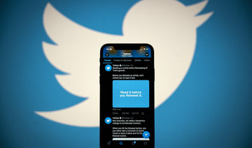 Twitter has arguably become a toxic breeding ground for hate speech it has become, especially in the Arab world. (File/AFP)